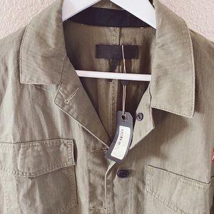 rag & bone Tops - NWT Rag & Bone Irving Shirt Jacket